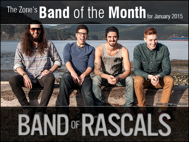 The Zone's Band of the Month is Band of Rascals