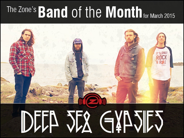 The Zone's Band of the Month is Deep Sea Gypsies