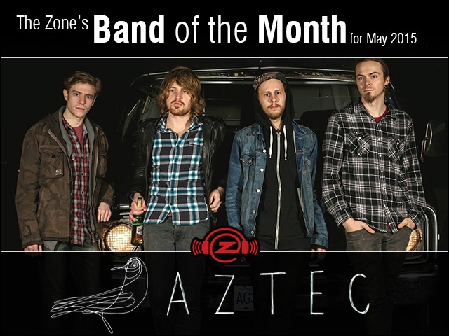 The Zone's Band of the Month is AZTEC