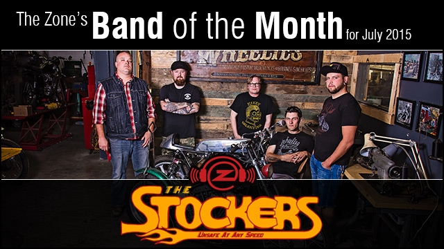 The Zone's Band of the Month is The Stockers