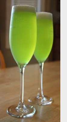 green champagne