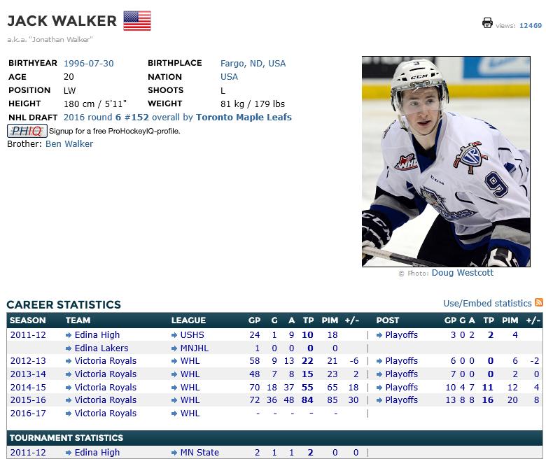 Jack Walker - elite