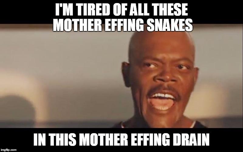 Snakes drain