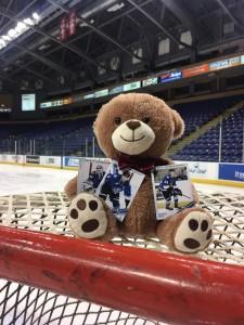 20161212 - Hockey Cards Teddy Toss
