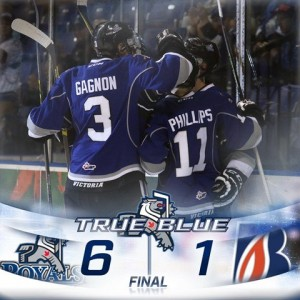 20161231 - Royals 6-1 win over Blazers